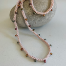 Crochet Seed Bead Necklace