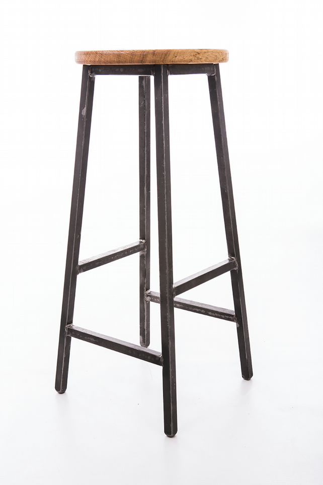 Industrial Bar Stool Folksy