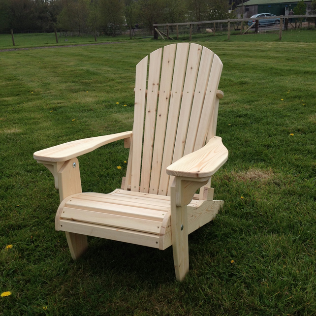Traditional American Style Folding Deck Chair Folksy