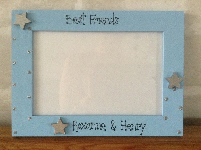 Personalised Photo Frame Best Friend Gift BFF C... - Folksy