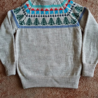 Sampler Fairisle Yoke Jumper