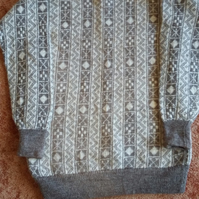 Vertical Fairisle Jumper