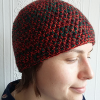 Autumn Crochet Beanie Hat
