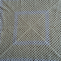 Lemon Crochet baby blanket or lap blanket