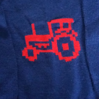 Navy tractor jumper