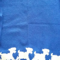 Blue lamb jumper