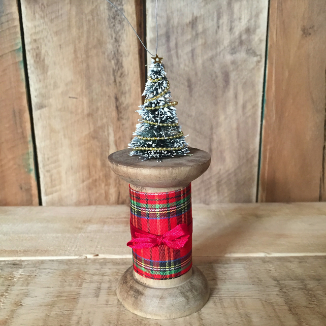 Bobbin Tree Christmas Decoration