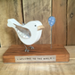 New Baby Bird Handmade Personalised Gift