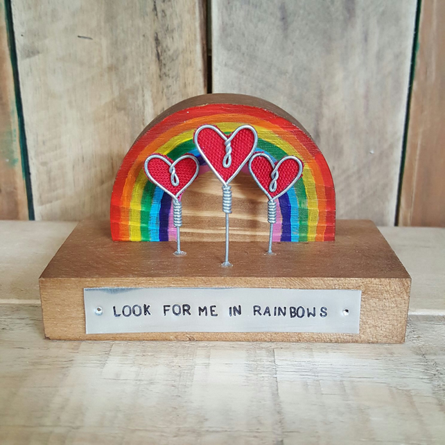Mini Wooden Rainbow