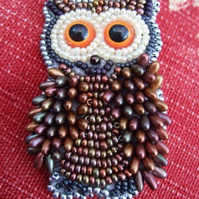 Personalised beaded brooch designs