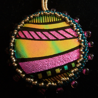 Abstract pendant