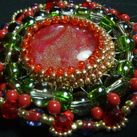 Red Clouds Pendant