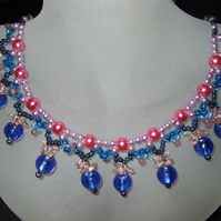 Pretty in Pink, necklace