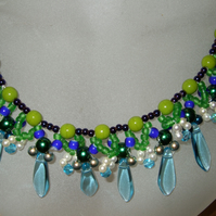 Spring Rain Necklace
