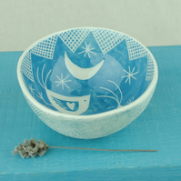 Small Bowl (Blue-Grey)