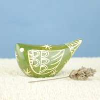 Green Bird (Small)