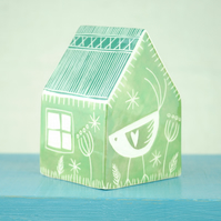 Medium Ceramic House (Green)