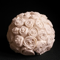 Rose Coral sculpture