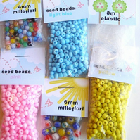 Extra Beads and Elastic! - Per pack