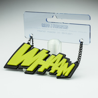 WHAAM Pop Art Statement Necklace