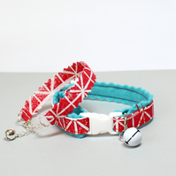 "Cat Collar and Friendship Bracelet Set ""Bella"""