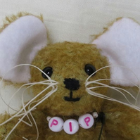 "PIP 4"" - Mohair Mouse"
