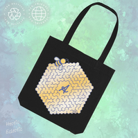 Bee Amazing empowering tote bag