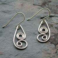 Elspeth Sterling Silver Earrings (E977)