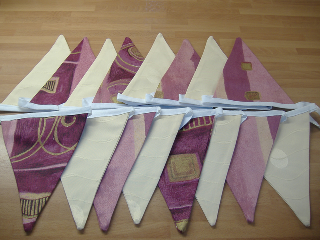 Bunting Sandy by Heirloom Bunting 15 ft OOAK