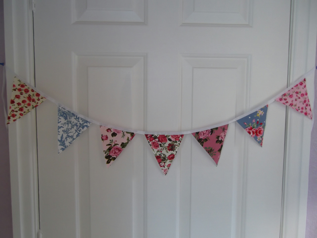 Mini Bunting Garland Banner 3ft 100% cotton