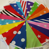 Bunting 20ft 6 metres single sided shabby chic Wedding party Carnival l 20