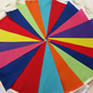 Bunting 20ft 6 metres single sided shabby chic Rainbow Gay pride LGBT 20 RAIN
