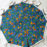 Dinosaur Fabric Bunting 10ft 3 meters Blue  Room Decor Party Choice of length