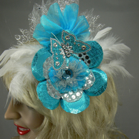 Hovering butterfly fascinator