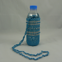 drinking water, bottle holder (crochet)