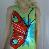 Gymnastic leotard ( butterfly )