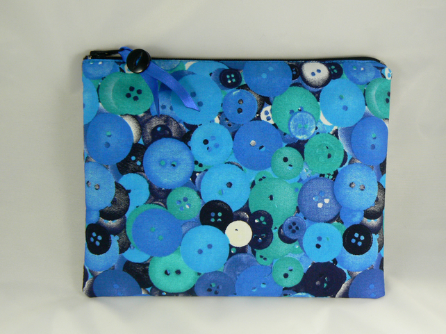 button print pencil case
