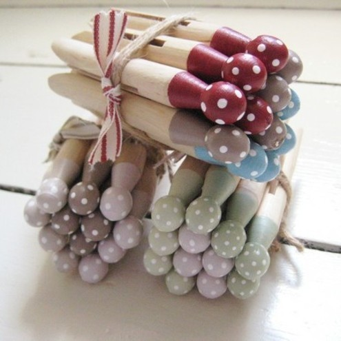 Dotty Dolly Pegs