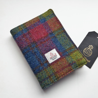 Harris Tweed Covered Notebook