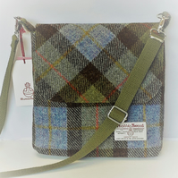 Harris Tweed Shoulder Bag McLeod Tartan