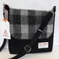 Harris Tweed ShoulderBlack and GreyCheck