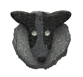Collie Fridge Magnet