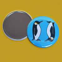 Penguin Print Pocket Mirror