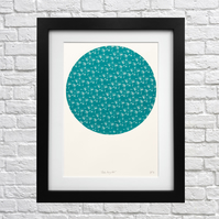 Flutter, Flurry, Fall Screen Print