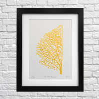 'All that Remains' Screen Print (Gold)