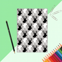 Stag Print Notebook