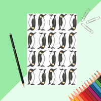 Penguin Print Notebook
