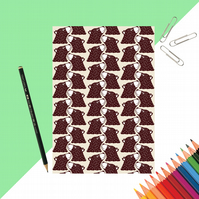 Bear Print Notebook