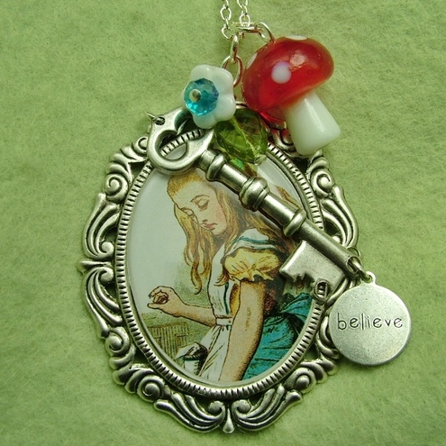 Curiously Alice: A Wonderland Necklace