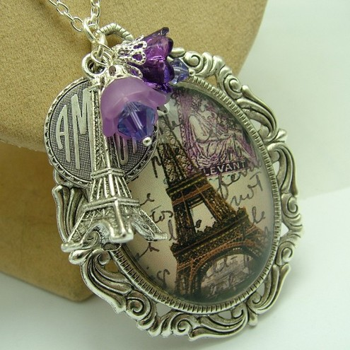 I remember Paris (Lilac)